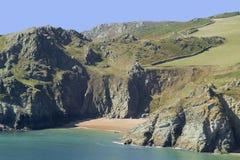 Devon. Coast path uk gb stock photo