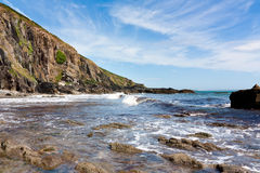 Devon Beach Stock Photo