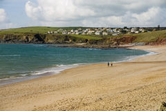 Devon Beach. A beach in Devon, England Stock Images