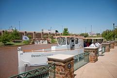 Devon-Bootskreuzfahrt Lizenzfreies Stockbild