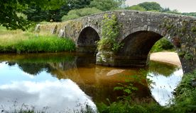 Devon bridge stock photography