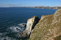 Devon coast Stock Photos