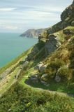 Devon Coastal Walk Royalty Free Stock Images