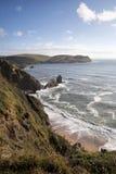 Devon coastline, England Stock Images