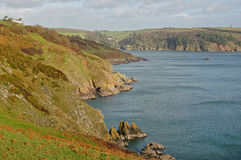 Devon coastline Royalty Free Stock Images