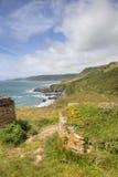 Devon coastline in spring Stock Image