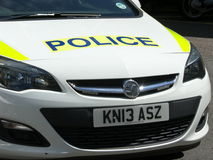 Devon and Cornwall police car Stock Images