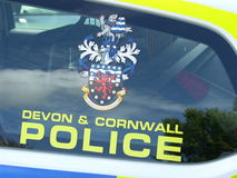 Devon and Cornwall police Royalty Free Stock Image