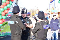 Devon and Cornwall police officers Royalty Free Stock Photos