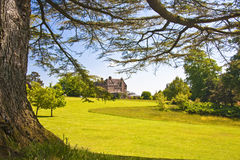 Devon country home. English country house and farming estate nightshays court devon Stock Photos