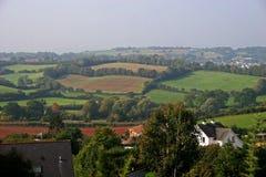 Devon countryside stock photo