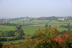 Devon countryside Royalty Free Stock Photo