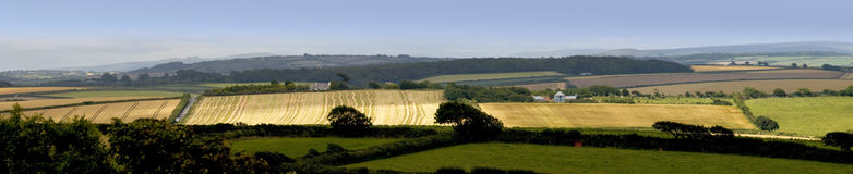 Devon countryside Stock Photography