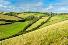 Devon Countryside Views Imagem de Stock