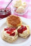 Devon cream tea Stock Images