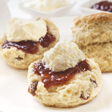 Devon Cream Tea Royalty Free Stock Images