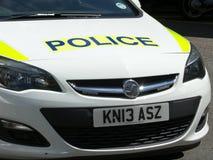 Devon en Cornwall politiewagen stock afbeeldingen