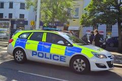 Devon en Cornwall politiewagen Stock Foto