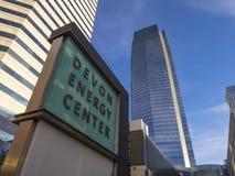 Devon Energy Center in Oklahoma City - OKLAHOMA CITY - OKLAHOMA - OCTOBER 18, 2017 stock photo
