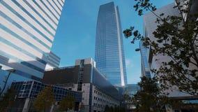 Devon Energy Tower i oklahoma city - USA 2017 stock video