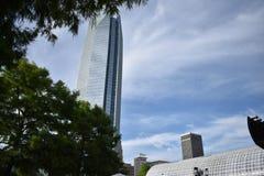Devon Energy Tower - Oklahoma City del centro Fotografia Stock