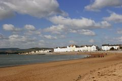 devon exmouth Royaltyfria Bilder