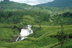 Devon-Fälle, einer von Sri Lanka Stockfotos