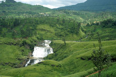 Devon Falls, one of Sri Lanka's stock photos