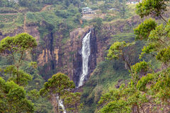 Devon Falls Sri Lanka Waterfall Royalty Free Stock Photos