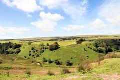 Devon Farmland England del norte imágenes de archivo libres de regalías
