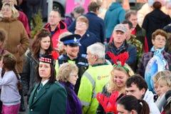 Devon i Cornwall policja PCSO Fotografia Stock