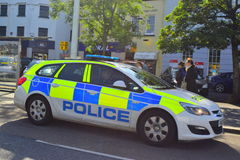 Devon i Cornwall samochód policyjny Zdjęcie Stock