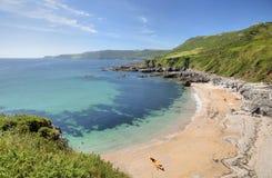 Devon-kustlijn Royalty-vrije Stock Foto's
