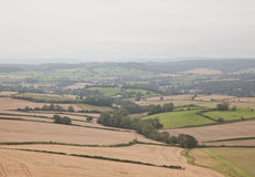 Devon Landscape View Royalty Free Stock Images