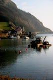 Devon-Morgen Stockfoto