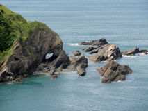 Devon Rocks stockfoto