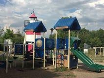 Devon' s Plaats in Mathews Park in Norwalk, Connecticut Royalty-vrije Stock Fotografie