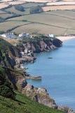 Devon Sea Stock Afbeeldingen