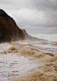 Devon storm Stock Photos