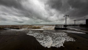 Devon storm Stock Photography