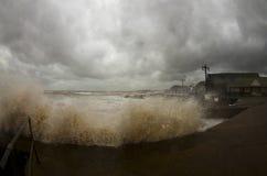 Devon storm stock photo