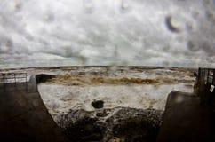 Devon storm stock photos
