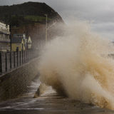 Devon storm Royalty Free Stock Photography