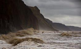 Devon-Sturm stockbild