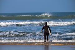 Devon Surfer del norte Fotografía de archivo libre de regalías