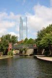 Devon Tower i Oklahoma Arkivfoto