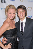 Devon Werkheiser, Molly McCook Royalty Free Stock Photography