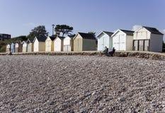 Devon wybrzeże Anglii jurassic obrazy royalty free