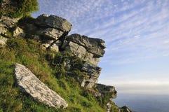 Devonian Limestone Rock outcrop Stock Photography