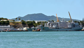 Devonport Auckland baja naval Nueva Zelanda Foto de archivo libre de regalías